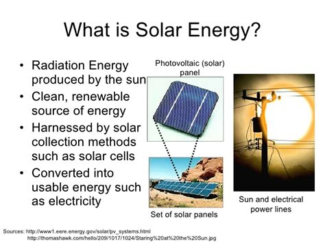define solar array presentation on solar energy wind energy and nuclear energy
