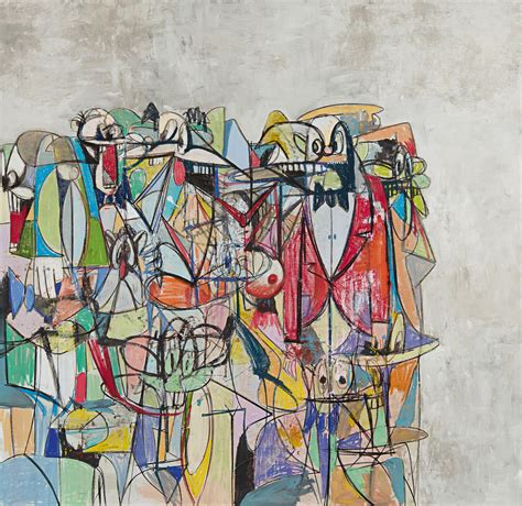 list contemporary artists george condo and picasso an artistic lineage cobo social