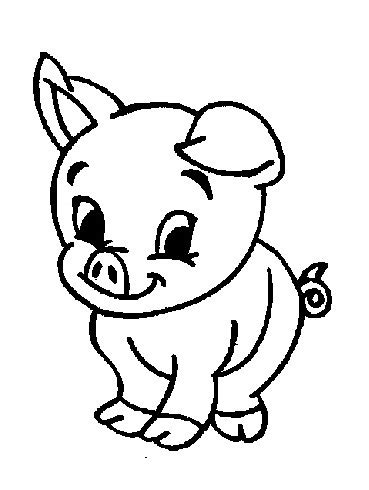 Baby Farm Animals Coloring Pages farm coloring pages baby farm animals coloring pages
