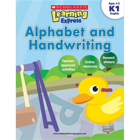 my alphabet book learning abc s alphabet a to z picture basic words book ages 2 7 for toddlers preschool kindergarten fundamentals series books scholastic learning express alphabet and handwriting