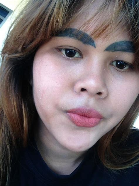 women  botched eyebrow tattoos removed tattoo ideas