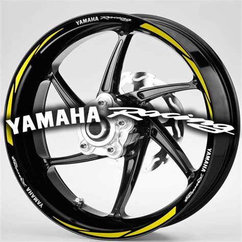 Aufkleber Yamaha Racing by Streifen Motorr 228 Der Zierstreifen Felgenrandaufkleber