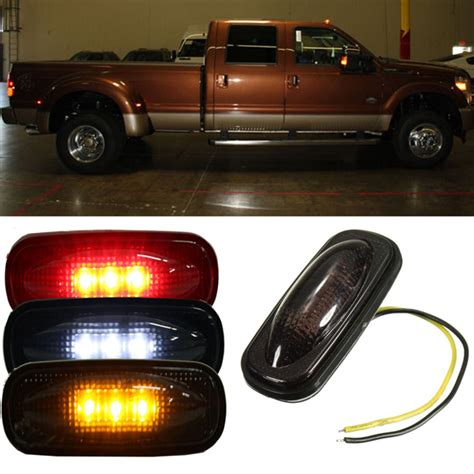 cab lights for ford f350 smoked ford cab marker lights autos post
