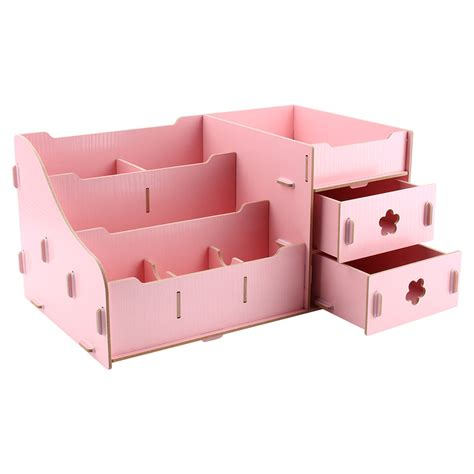 Handmade Storage Boxes - wooden storage box jewelry container makeup organizer
