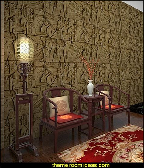 Egyptian Wall Mural decorating theme bedrooms maries manor egyptian theme