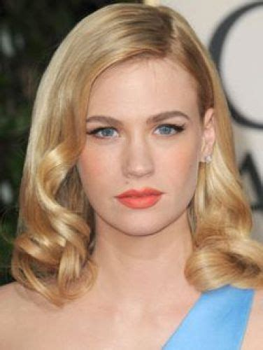evening hairstyles for over 50s 12 january jones hair mad about her blonde hair color