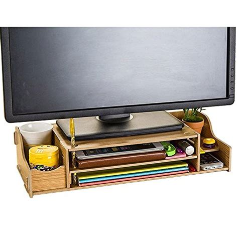 desk organizer monitor stand top 5 best monitor stand organizer for sale 2016 product