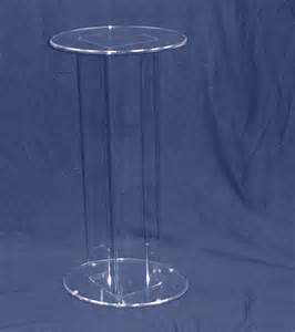 Pedestal Display Stand Oval Acrylic Pedestal 36 Quot H Clear Display Stand Clear Stands