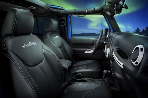 jeep inside view 2014 jeep wrangler polar edition interior view 243329