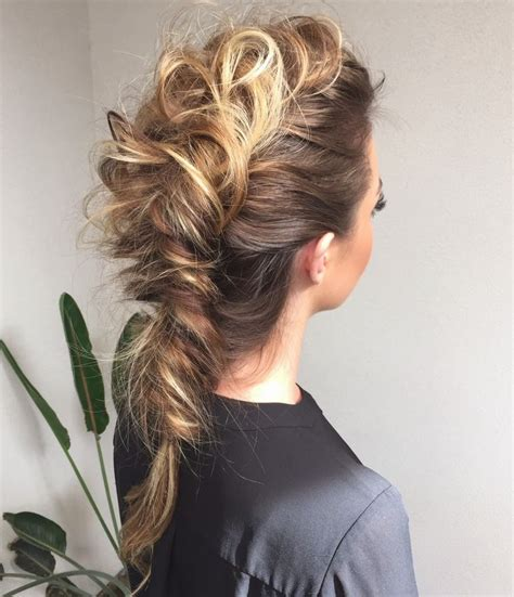 reverted braid styles 1000 images about messy fishtail braids on pinterest