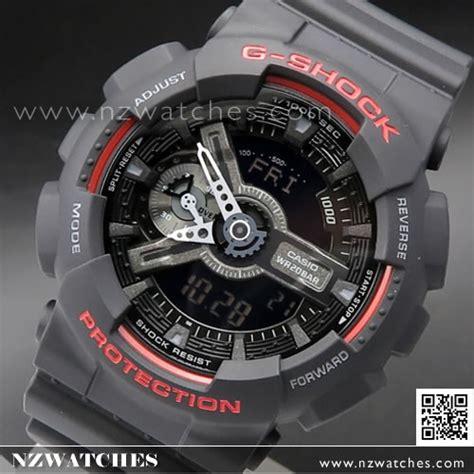 Casio G Shock Ga110 Hr buy casio g shock 200m analog digital black and sport