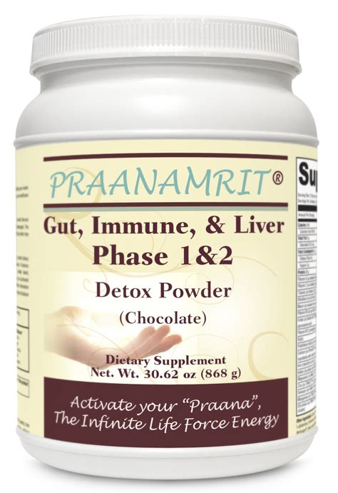 How To Detox From Chocolate by Gut Immune Liver Phase 1 2 Detox Powder Chocolate