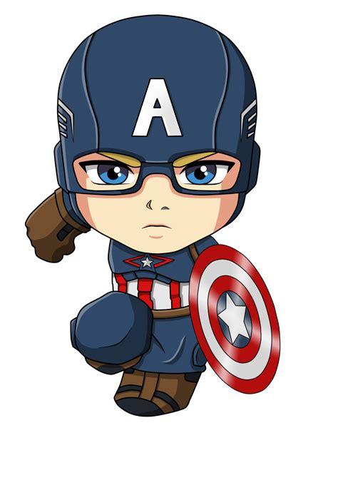 Figure Captain America Ironman Chibi capitan america by joeleon on deviantart