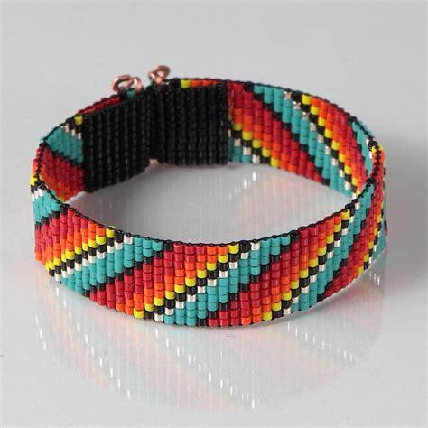 loom beading american style rainbow bead loom bracelet