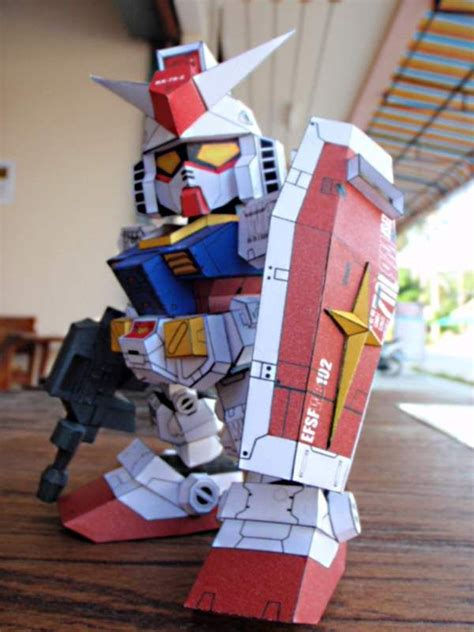 Sd Gundam Papercraft - 73 best images about papercraft toys on models