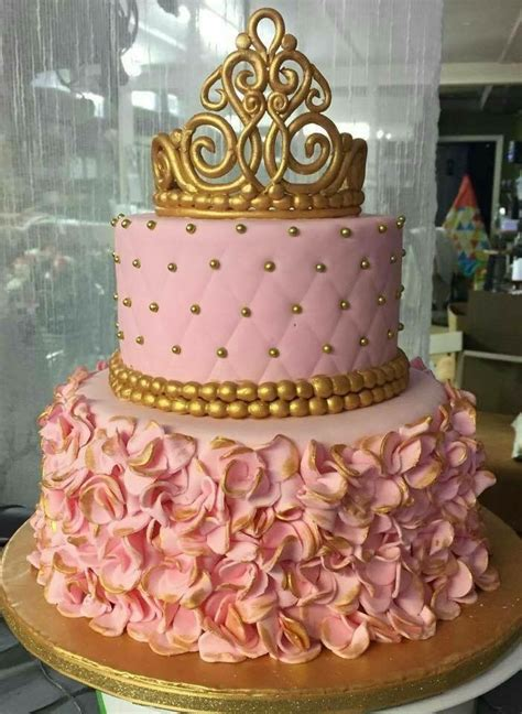 Quinceanera Cakes by Pink And Gold Quinceanera Cake Quinceanera Ideas