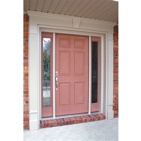 Exterior Door Pediment And Pilasters Door Pilasters A Classical Pediment And Pilasters Runs The Risk Of Looking Overdone But Here
