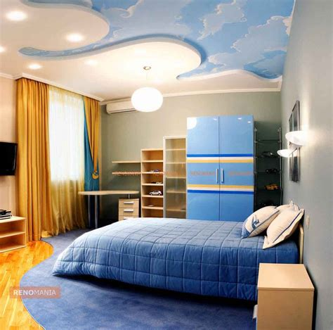 Wall Mural Bedroom 9 stylish false ceiling designs renomania