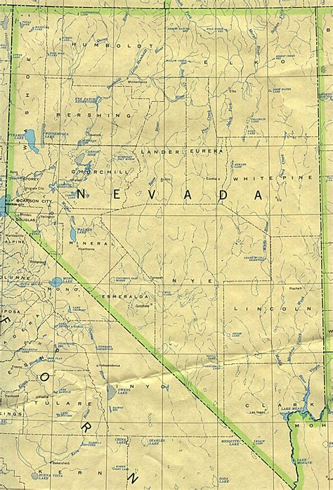 nevada texas map nevada road map nevada usgs state map click