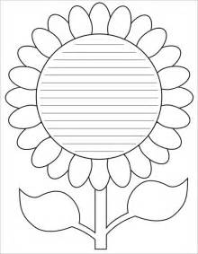 Flower Template Pdf by Sle Flower Temlate 6 Documents In Pdf