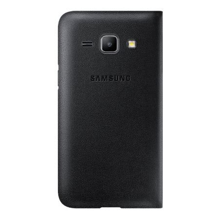 Flip Cover Samsung J1 View official samsung galaxy j1 2015 flip cover black
