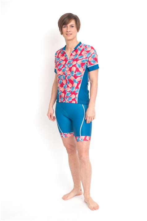 trendy cycling shorts for pineapple f by