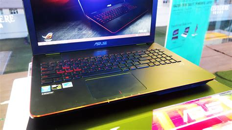 Laptop Asus Rog G Series asus rog g series g551 gaming laptop now available will