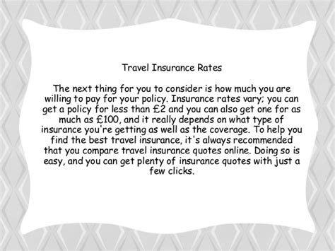 Go Compare Insurance Quotes by How To Compare Travel Insurance Quotes