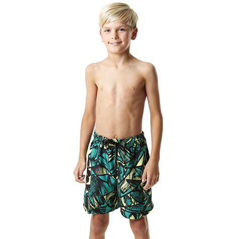 Printed Boy speedo printed leisure 15 inch boys watershorts