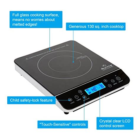 duxtop ls portable induction cooktop review