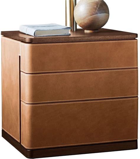 poltrona frau leather fidelio notte poltrona frau bedside cabinet nightstand