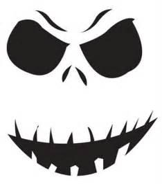 printable pumpkin pattern grinning ghoul halloween