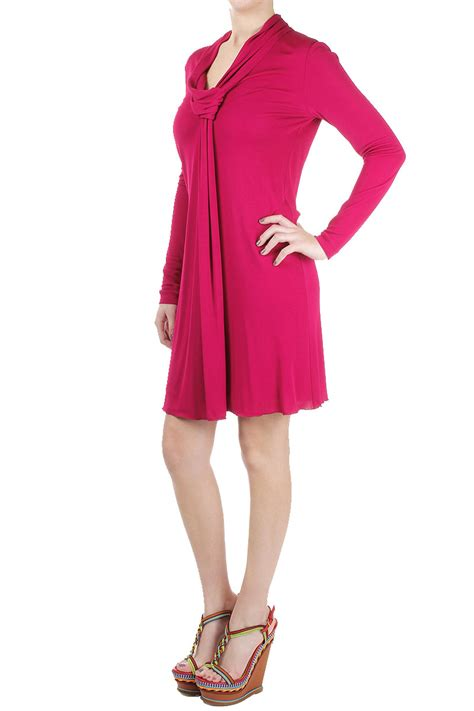 Longdress Gucci With Label gucci pink sleeved dress made in italy new with tag