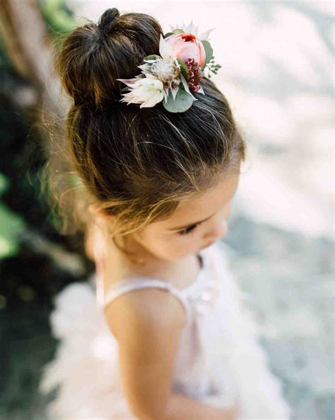 Adorable Hairstyle Ideas for Your Flower Girls   Martha Stewart Weddings