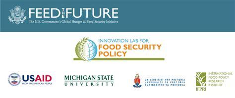 food security policy innovation lab of pretoria