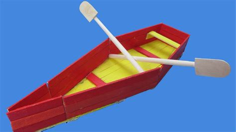 how do u make a paper boat how to make a paddle boat with popsicle stick ice cream