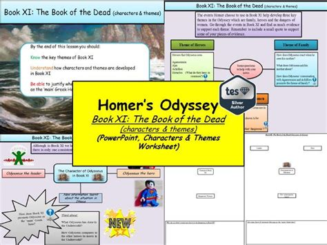 themes in book 4 of the odyssey matthew nolan s shop teaching resources tes