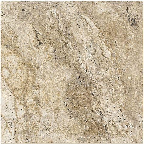 Marazzi Granite Marron 12 In Marazzi Travisano Bernini 18 In X 18 In Porcelain Floor
