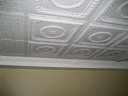 glue nail up ceiling tiles kitchen ideas pinterest