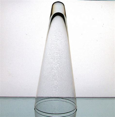 Tall Vases Home Decor hanging cone wall vase vessel clear 9 x 3 75 clear oos