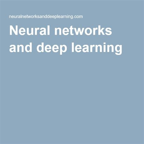 neural networks and learning neural networks and learning learning explained to your machine learning books 1000 ideas about machine learning on big data