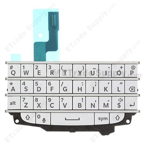 blackberry q10 keypad and keyboard assembly etrade supply