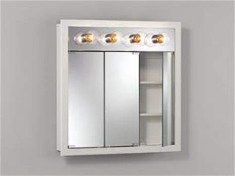 lighted medicine cabinet bathroom medicine cabinets with