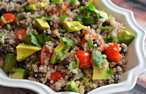quinoa salad simple quinoa salad recipe dishmaps