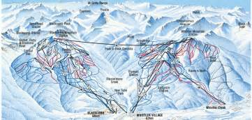 ski canada map ski whistler 2017 2018 canada book skiing holidays inghams