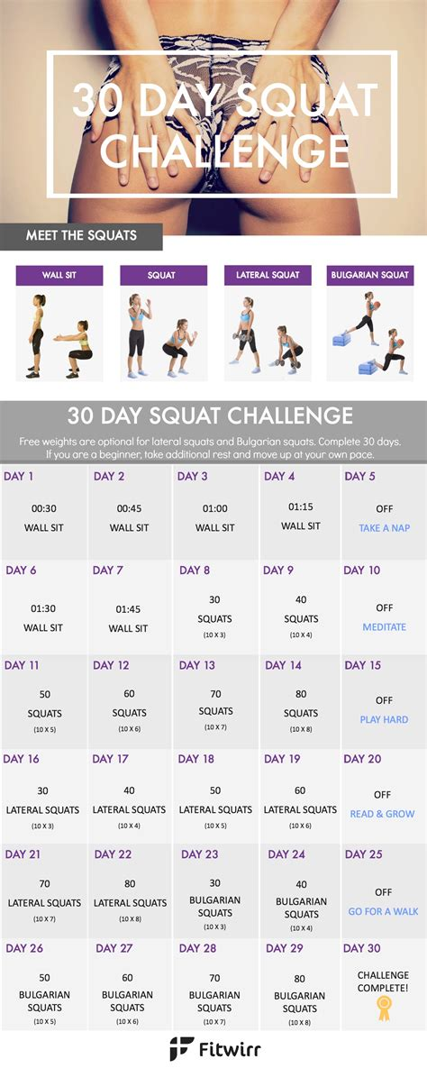 30 day squat challenge for 30 day squat challenge take your from flat to