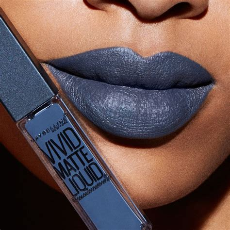 Lipstik Maybelline Liquid Matte the grey lipstick maybelline matte