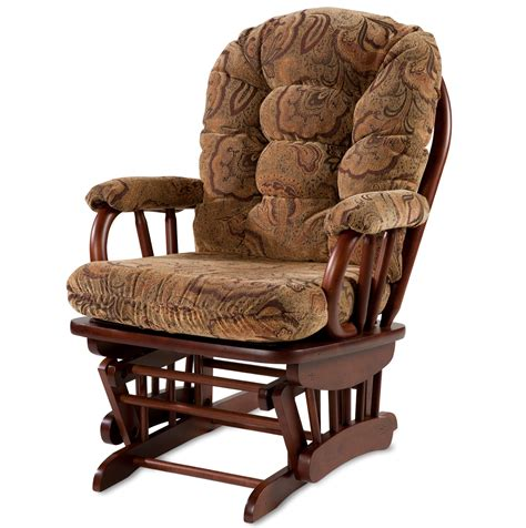 glider rocker slipcover for your cushion rich choc brown cheap glider rocking chair cheap freestanding tubs