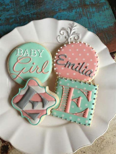 Baby Shower Cookie Ideas by 25 Best Ideas About Baby Shower Cookies On