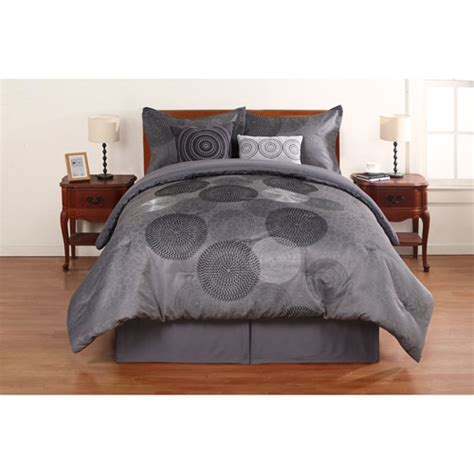 walmart bed linens hometrends circles bedding comforters sets walmart